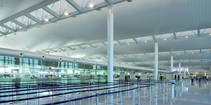 metal-ceiling-brussels-airport