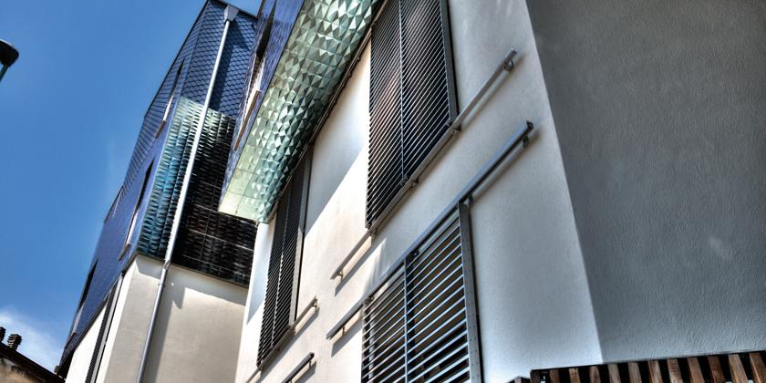 sliding shutters sun-control