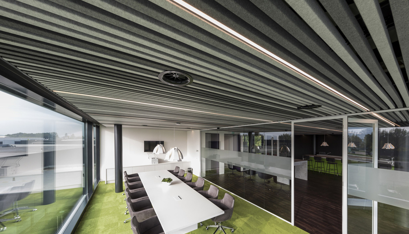 felt ceiling