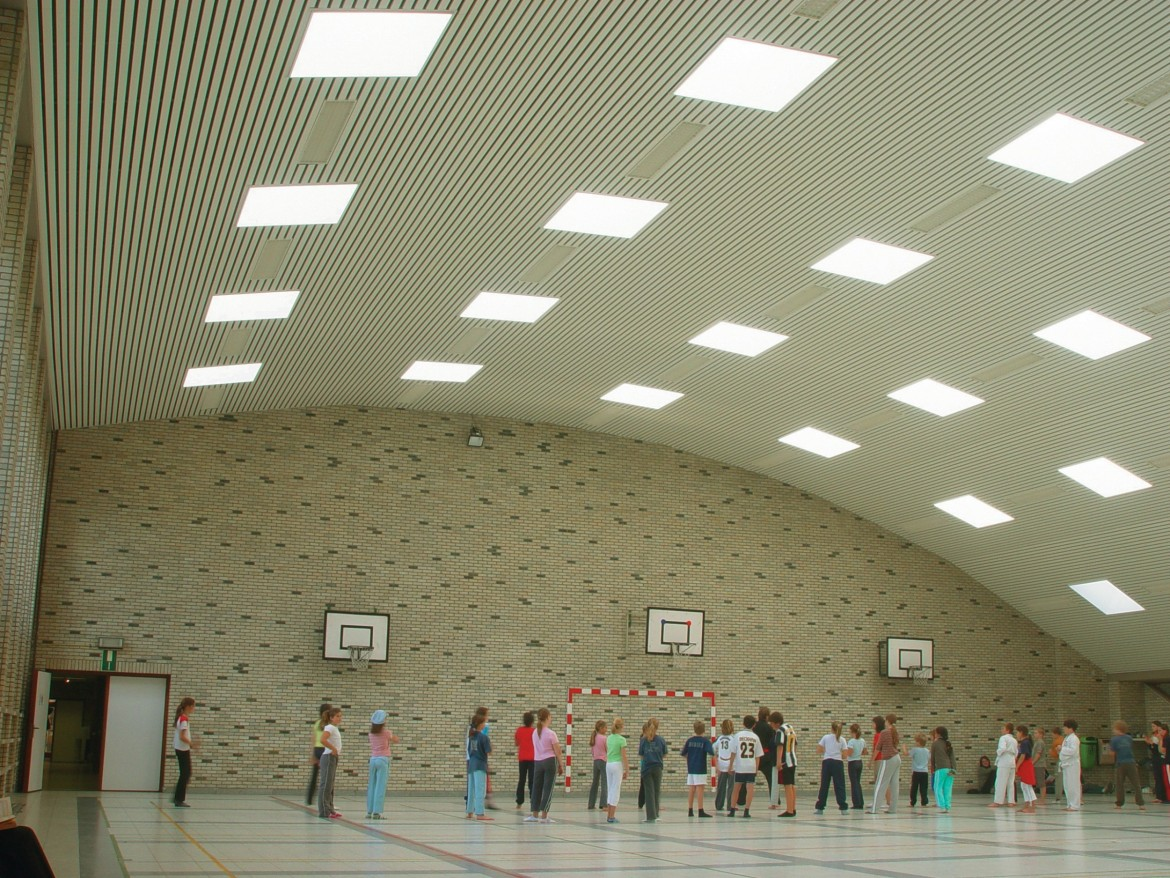 Sports Hall Ceiling systems