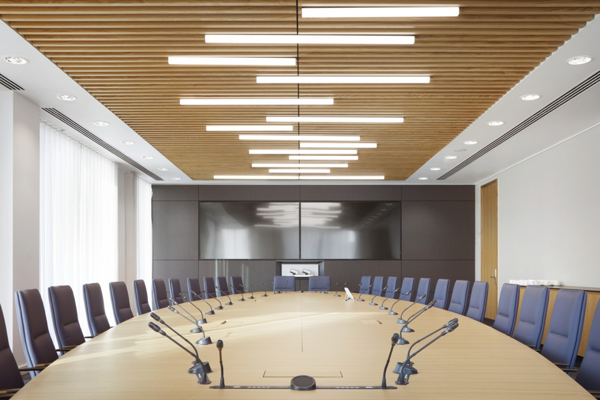 HSBC MDF grill ceilings